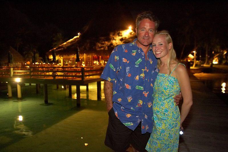 Douglas Seifert and Krissy Gossman (Rangiroa - Kia Ora Resort)