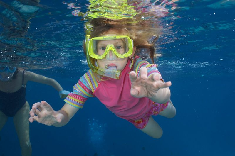 Kimberly McDowell, snorkeling (Fakarava - South Pass Resort)