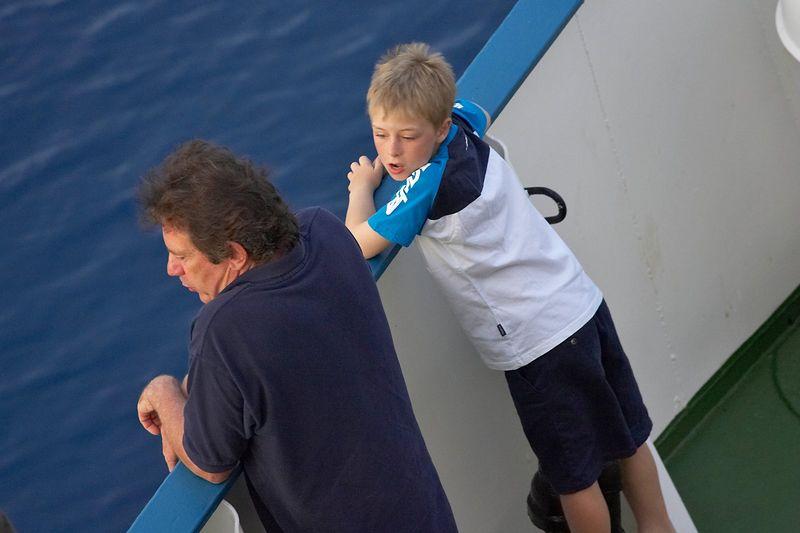 Mike McDowell and his son, Timothy (Boat - Akademik Shokalskiy)