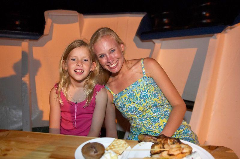 Krissy Gossman hangs out with Kimberly McDowell (Boat - Akademik Shokalskiy)