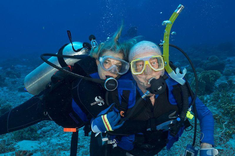 Ed Callan and Pat Hamilton (Tahanea Pass Drift)