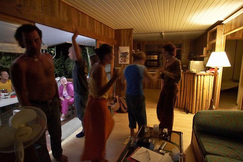 Guillaume, Pef, Chloe, Renaud, Allette, and Mahiti (Moorea - Guillaume Vilcot Residence)