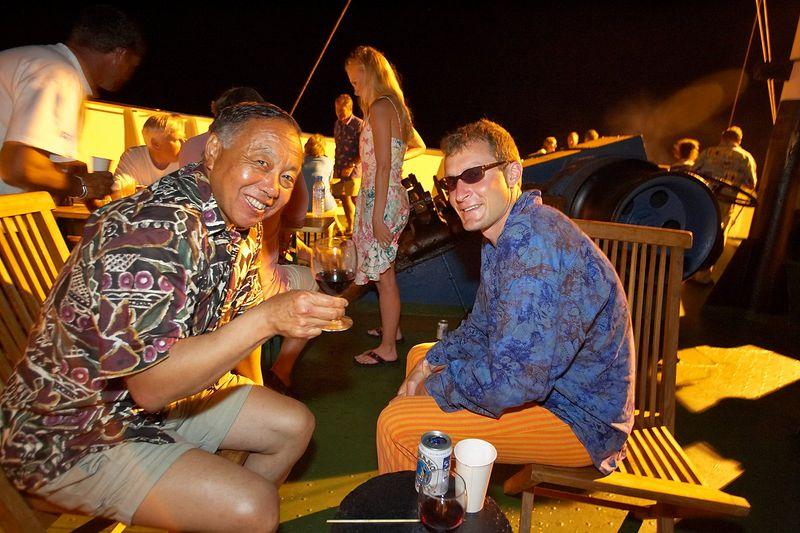 Jerry Watanabe and Hal Tweto (Boat - Akademik Shokalskiy)