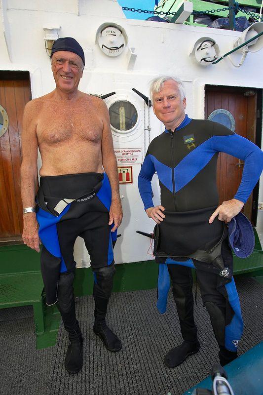 Barrett Anderson and Ken Howard (Boat - Akademik Shokalskiy)