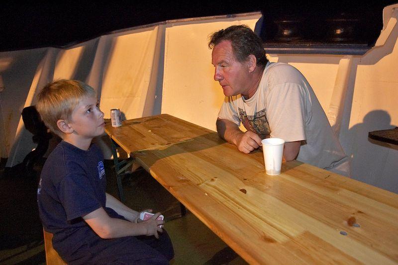 Timothy McDowell and Patrice Richard (Boat - Akademik Shokalskiy)