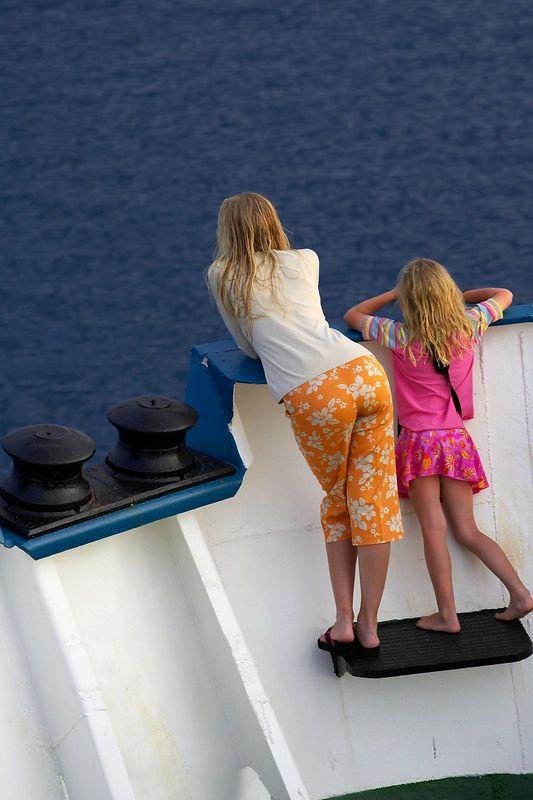 Krissy Gossman and Kimberly McDowell (Boat - Akademik Shokalskiy)