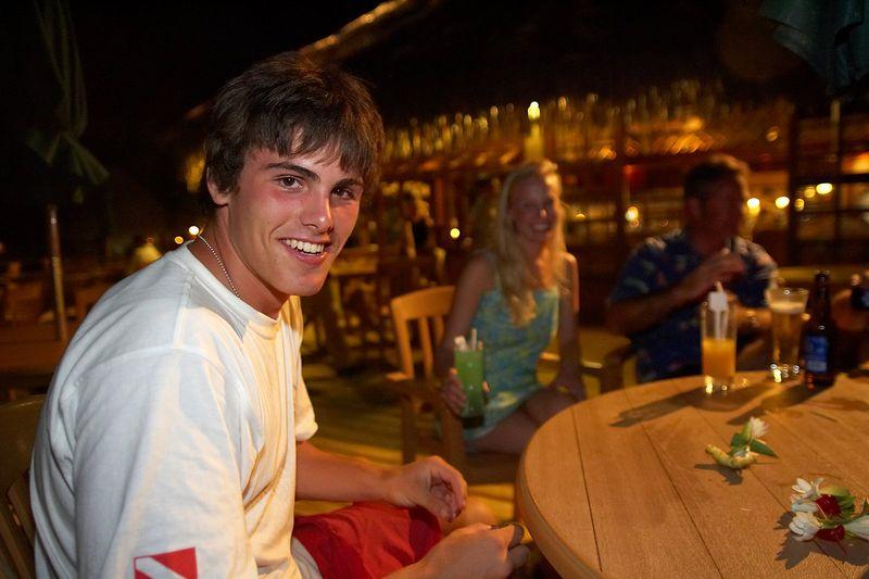 Locky, Krissy, and Douglas (Rangiroa - Kia Ora Resort)