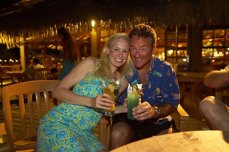 Krissy and Douglas (Rangiroa - Kia Ora Resort)