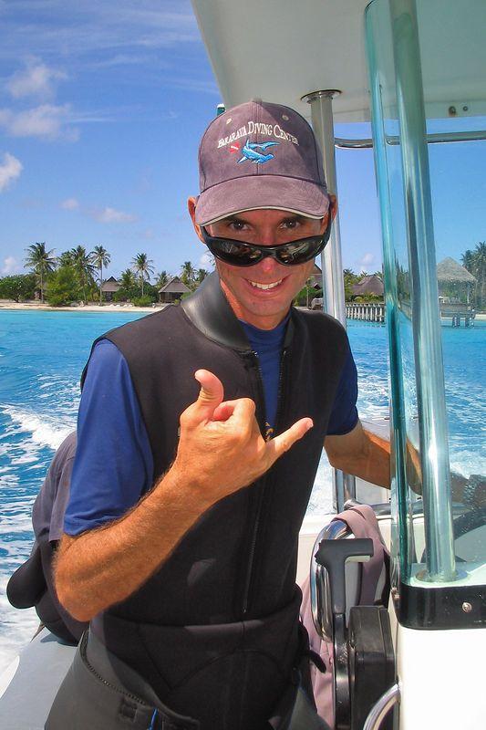 Serge Howald of Fakarava Dive Center