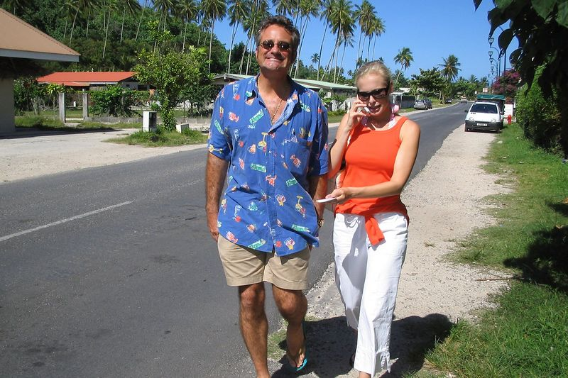 Douglas and Krissy (Moorea - Topside)