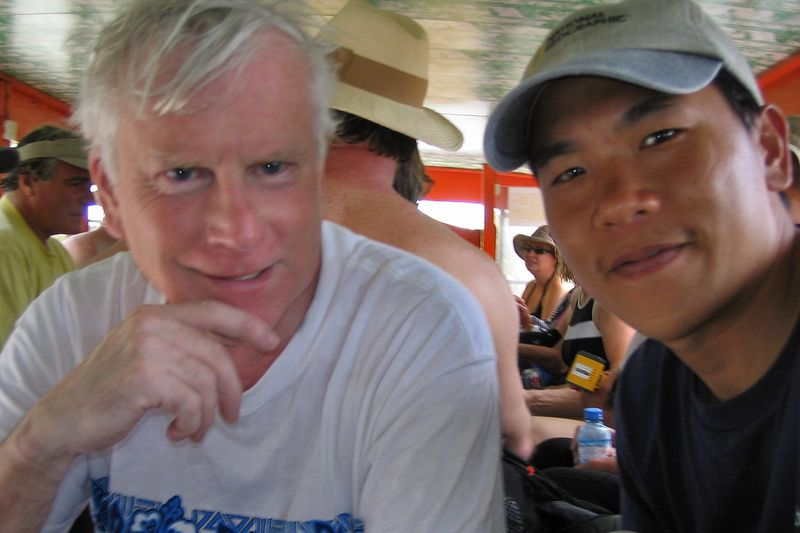 Ken Howard and me (Rangiroa - Misc Topside)