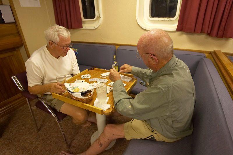 Bob Spane and Ed Callan (Boat - Akademik Shokalskiy)