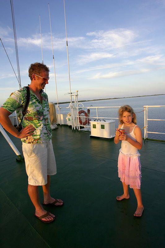 Brett Gerrard and Kimberly McDowell (Boat - Akademik Shokalskiy)