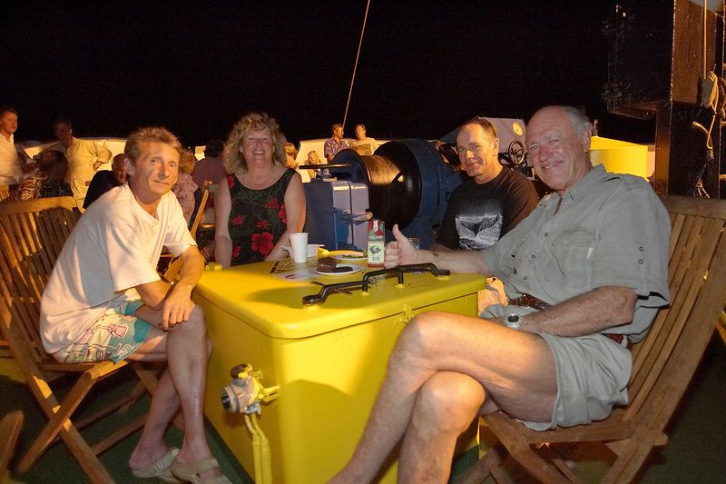 Igor, Regis, Costa, and Barrett (Boat - Akademik Shokalskiy)