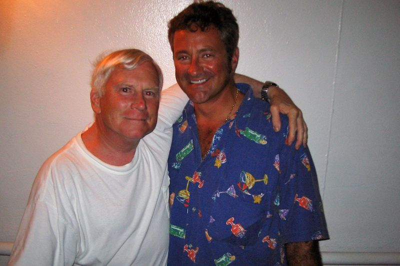 Ken Howard and Douglas Seifert (Moorea - Topside)