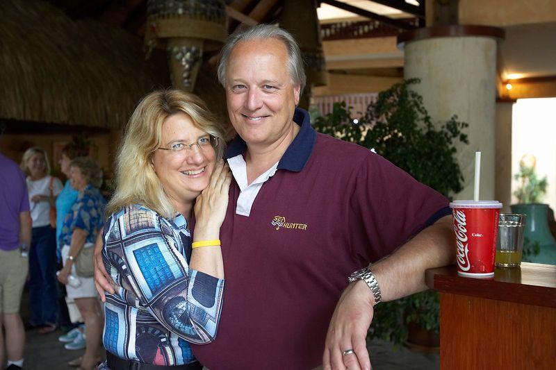 Susan and Chip Scarlett at the Sheraton Tahiti