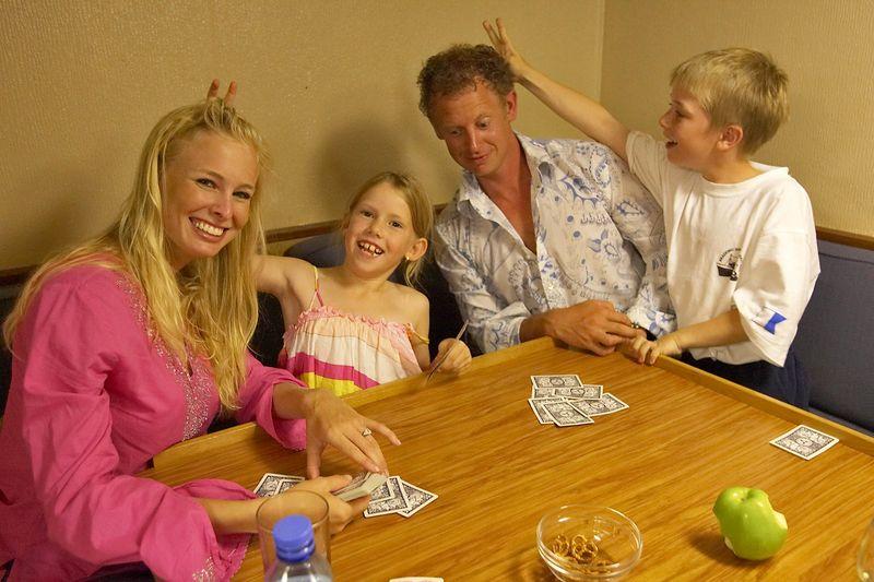 Krissy, Kimberly, Brett, and Timothy horse around (Boat - Akademik Shokalskiy)