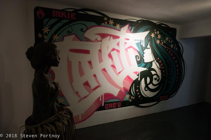 ONO'U Tahiti Museum of Street Art - Tahiti