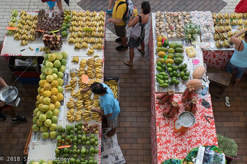 Pape'ete Market - Tahiti