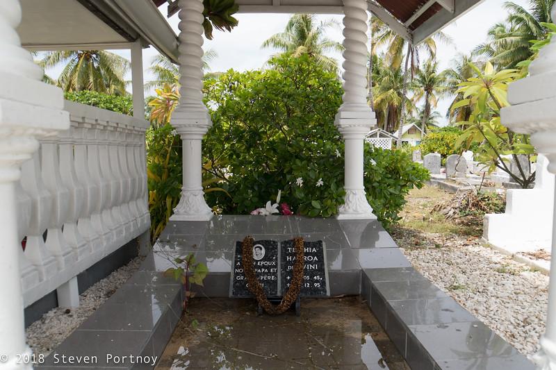 Cemetery - Rangiroa