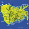 At 130 square miles, Nuku Hiva is slightily smaller than Lanai.