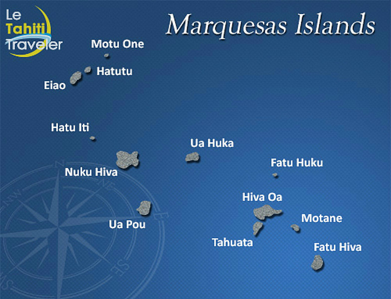Nuku Hiva is the largest Marquesan island, and the port of entry.