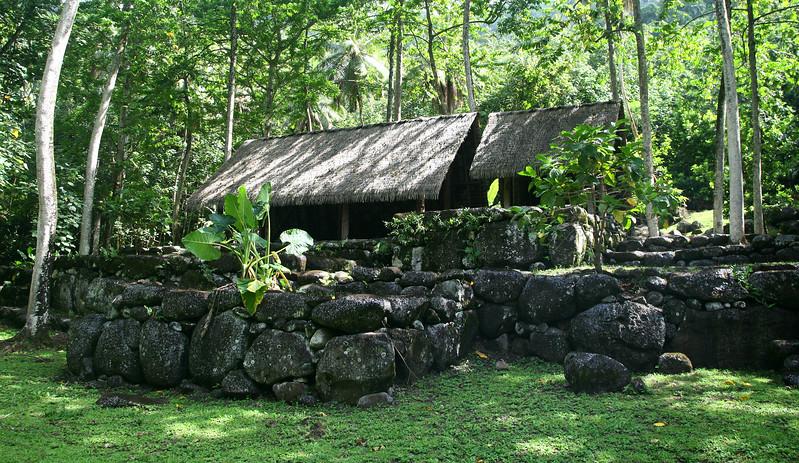 Hatiheu Valley archeological site.