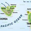 Moorea and Tahiti.