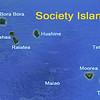 Moorea and Tahiti make up the Leeward Group of the Society Islands.