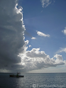 Storm Front - Moorea, French Polynesia