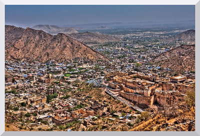 View of Jaipur City (Rajasthan) from Jaigarh Fort