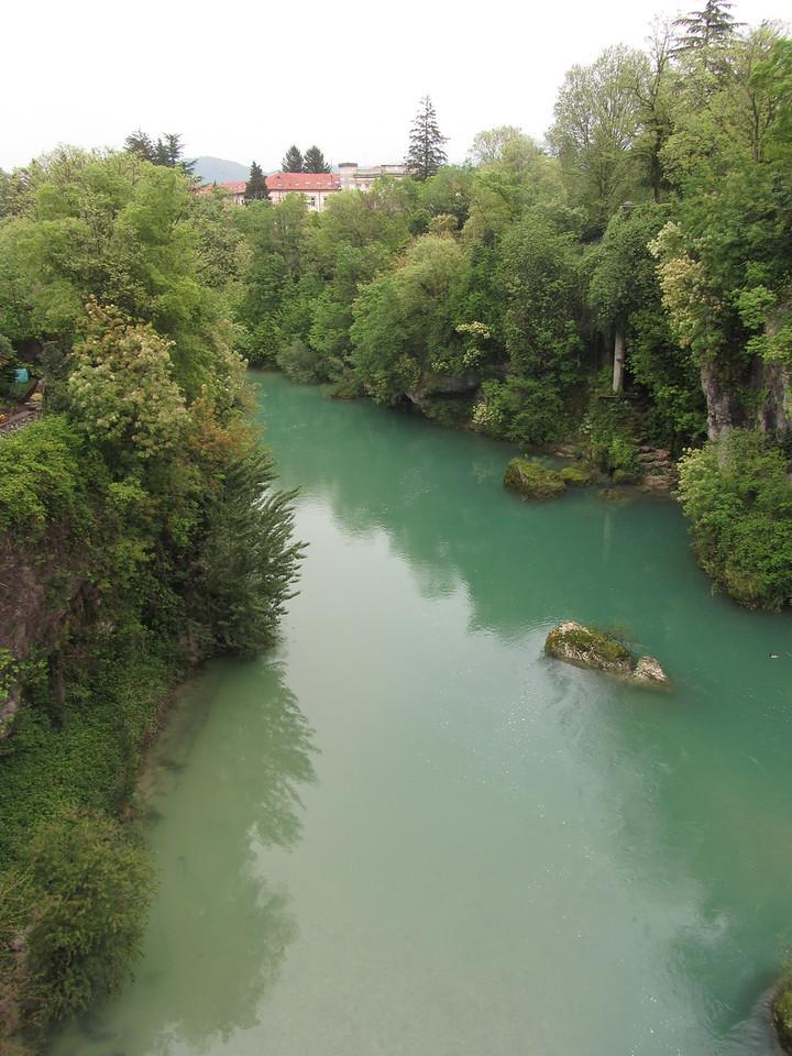 Cividale, der Fluss Natisone