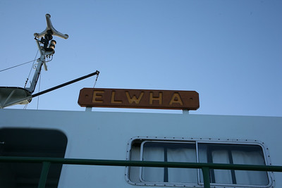Leaving on the Elwha