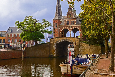 Sneek Waterport built in 1613