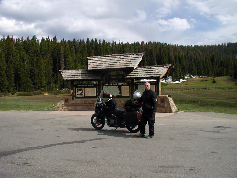 Made Wolf Creek Pass Sunday afternoon  July 3, headed for Pagosa Springs .