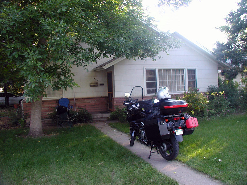Got out of Hayes  around 8, and arrived at son Codys house in Fort Collins, CO around 1:30. Spent the afternoon and evening with him, and was back on the road at 6:30 Thursday morning headed for  Billings, MT.