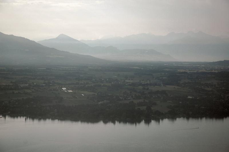 Coming Into Switzerland