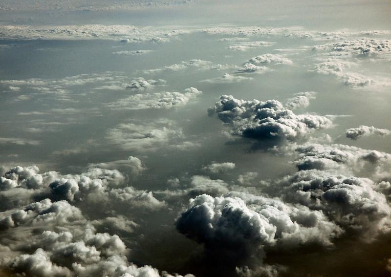 Clouds En Route To Geneva