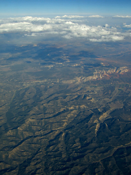 America from an aeroplane