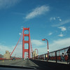 Crossing the Golden Gate under the sun... some pinch me I must be dreaming