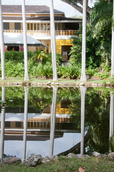 • Bonnet House Museum and Garden<br /> • Interesting reflection of the Old Bonnet House