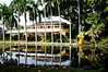 • Bonnet House Museum and Garden<br /> • Main House with its reflection