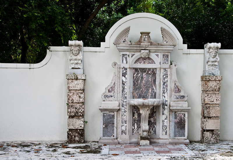 • Bonnet House Museum and Garden<br /> • Fountain creation by  Frederic Bartlett
