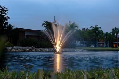 The Fountain,  Davis Lake Condos, Ft Myers, FL