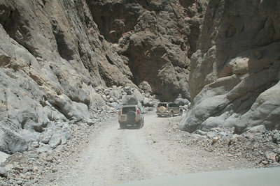 In the wadi