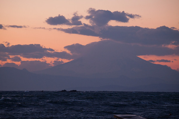 Mt Fuji from Hayama