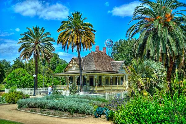 Fullerton Arboretum, Fullerton, California