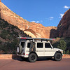 "Driving through Zion National Park on our way to Kanab<br /> <a href=""https://www.g-wagenaccessories.com/products/side-utility-rack-for-mercedes-gwagen?variant=11829827329"">https://www.g-wagenaccessories.com/products/side-utility-rack-for-mercedes-gwagen?variant=11829827329</a>"