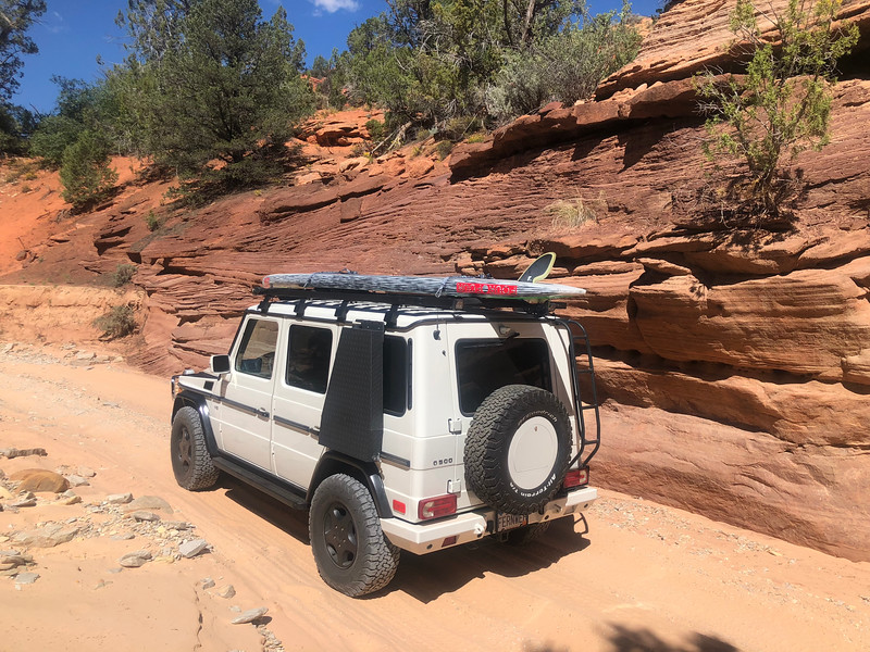 """Trail to Peek-A-Boo Slot Canyon north of Kanab<br /> <a href=""""https://www.g-wagenaccessories.com/products/rear-spare-wheel-cover-with-lockable-compartment-for-mercedes-gwagen"""">https://www.g-wagenaccessories.com/products/rear-spare-wheel-cover-with-lockable-compartment-for-mercedes-gwagen</a>"""