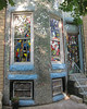 Another mosaic house on the same street.